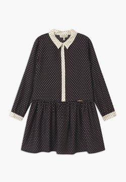 TWINSET - STAMPA STELLE - Sukienka koszulowa - nero/neve