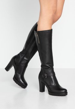 Anna Field - LEATHER BOOTS - High heeled boots - black