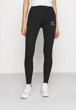 Nike Sportswear - CLUB - Legging - black/hyper pink