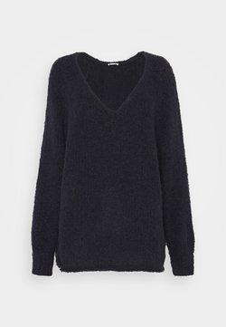 American Vintage - TUDBURY - Pullover - navy chine