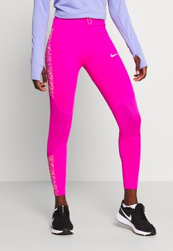 Nike Performance - FAST 7/8 - Tights - fire pink/white
