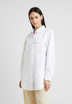 Missguided Tall - OVERSIZED - Hemdbluse - white