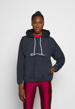 Champion - HALF ZIP - Windbreaker - dark blue
