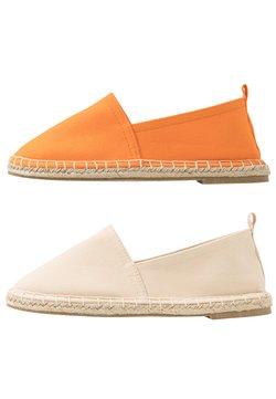 Even&Odd - 2 PACK  - Espadrilles - beige/orange