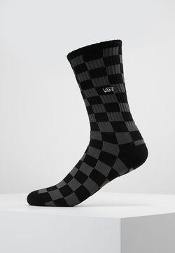 Vans - CHECKERBOARD CREW - Socken - black/charcoal