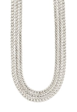 Pilgrim - Halsband - silver plated