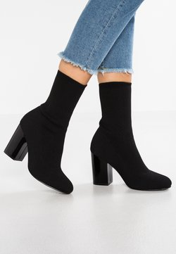 Even&Odd - High Heel Stiefelette - black