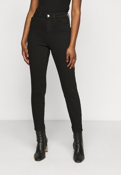 Pieces Petite - PCKAMELIA ANKLE - Jeans Skinny Fit - black