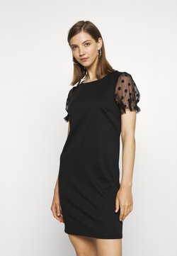 Vila - VITINNY SLEEVE DRESS - Jerseykleid - black