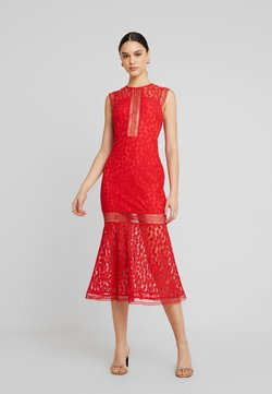 Love Triangle - THE TANGO MIDAXI DRESS - Vestido de fiesta - red
