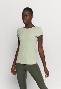 Nike Performance - LUXE - T-Shirt basic - celadon/olive aura