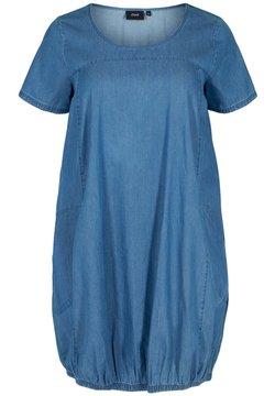 Zizzi - Vestido vaquero - blue