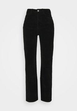 Weekday - ROWE TROUSER - Pantalones - black