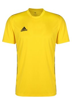 adidas Performance - AEROREADY PRIMEGREEN JERSEY SHORT SLEEVE - T-paita - yellow