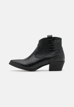 TOM TAILOR - Ankle boot - black