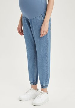 DeFacto - Jeansy Relaxed Fit - indigo