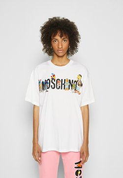 MOSCHINO - SESAME STREET - T-shirt con stampa - white