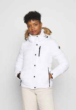 Superdry - CLASSIC FUJI JACKET - Winterjacke - white