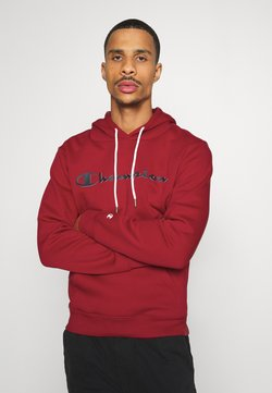 Champion - LEGACY HOODED - Huppari - dark red