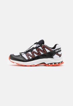 Salomon - SHOES XA-COMP ADV UNISEX - Sneaker low - white/black/cherry tomato
