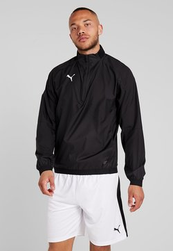 Puma - LIGA TRAINING - Windbreaker - black/white