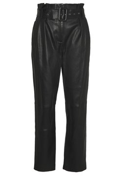 Steffen Schraut - MANHATTAN LUXURY  PANTS - Skinnbukser - black