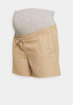 Mamalicious Curve - MLLINEN - Shorts - beige