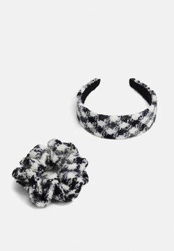 Pieces - PCOLLO HAIR SET - Haar-Styling-Accessoires - black/white