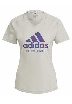 adidas Performance - Camiseta estampada - sand