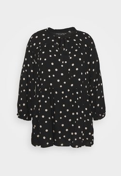 Dorothy Perkins Curve - SPOT TUNIC - Bluse - multi coloured