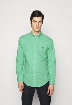 Polo Ralph Lauren - NATURAL - Hemd - green/white