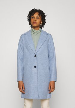 ONLY - ONLCARRIE BONDED COAT  - Abrigo - kentucky blue