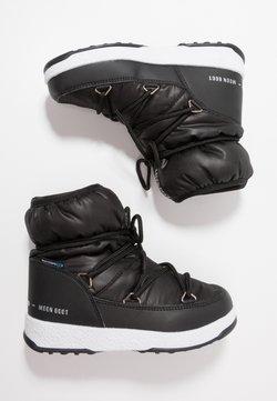 Moon Boot - GIRL LOW WP - Botki sznurowane - black