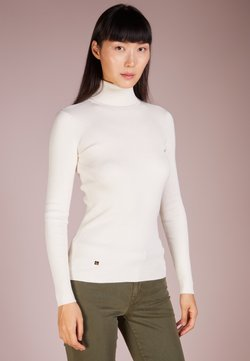 Lauren Ralph Lauren - TURTLE NECK - Strickpullover - mascarpone cream