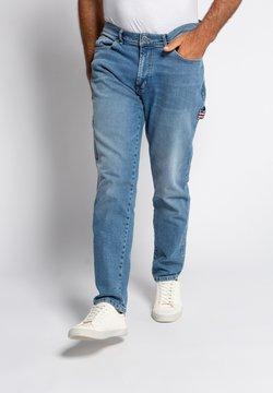 JP1880 - Jean droit - blue bleached
