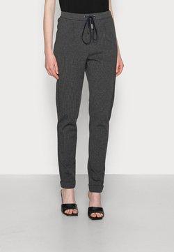 Esprit - JOGGER HOUNDSTH - Jogginghose - dark grey