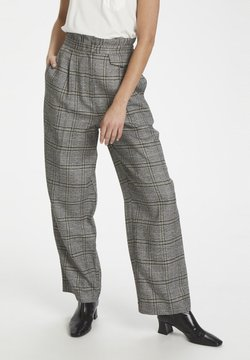 Soaked in Luxury - Stoffhose - black check