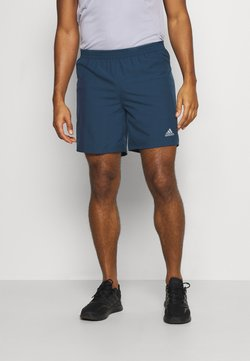 adidas Performance - RUN IT SHORT - Pantalón corto de deporte - crew navy