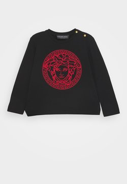 Versace - MAGLIETTA MANICA LUNGA UNISEX - Longsleeve - nero/rosso