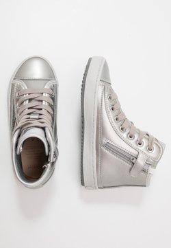Geox - KALISPERA GIRL - Sneaker high - dark silver