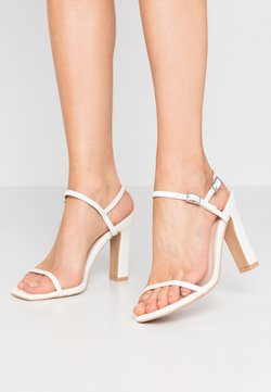 RAID Wide Fit - WIDE FIT SILVINA - Sandaletter - white