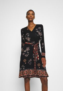 Desigual - SINGAPUR - Jerseykleid - black