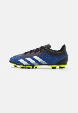 adidas Performance - PREDATOR FREAK .4 FXG - Botas de fútbol con tacos - royal blue/footwear white/core black