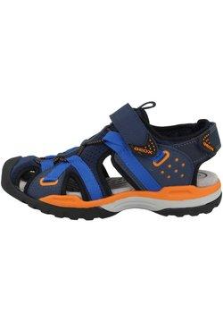 Geox - BOREALIS - Trekkingsandale - navy/orange