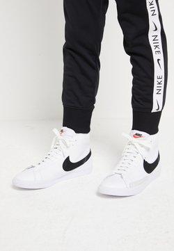 Nike Sportswear - BLAZER MID - Sneakersy wysokie - white/black