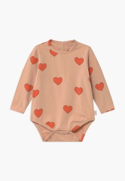 TINYCOTTONS - HEARTS - Body - light nude/red