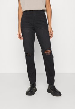 American Eagle - MOM JEANS - Jeans Slim Fit - faded black