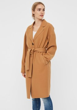 Vero Moda - WICKEL - Trench - tobacco brown