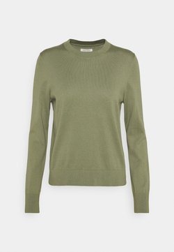 Marc O'Polo - LONGSLEEVE ROUND NECK - Strickpullover - dried sage