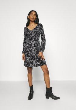 Even&Odd - Jerseykleid - black/multi-coloured